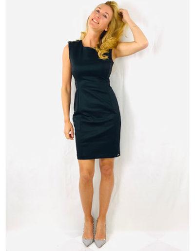 elegantes schwarzes Kleid LIUJO